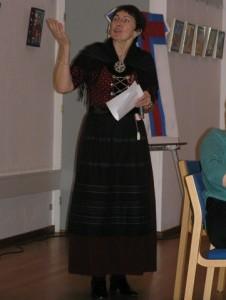 Margaret Johannesen fortæller om Eden på Færøerne.